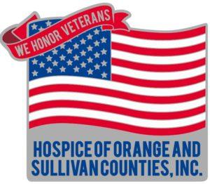Hospice Veteran Flag