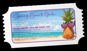 Hospice of Orange and Sullivan 50/50 Raffle Tickets